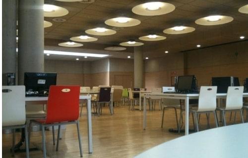 Biblioteca para estudiar en madrid